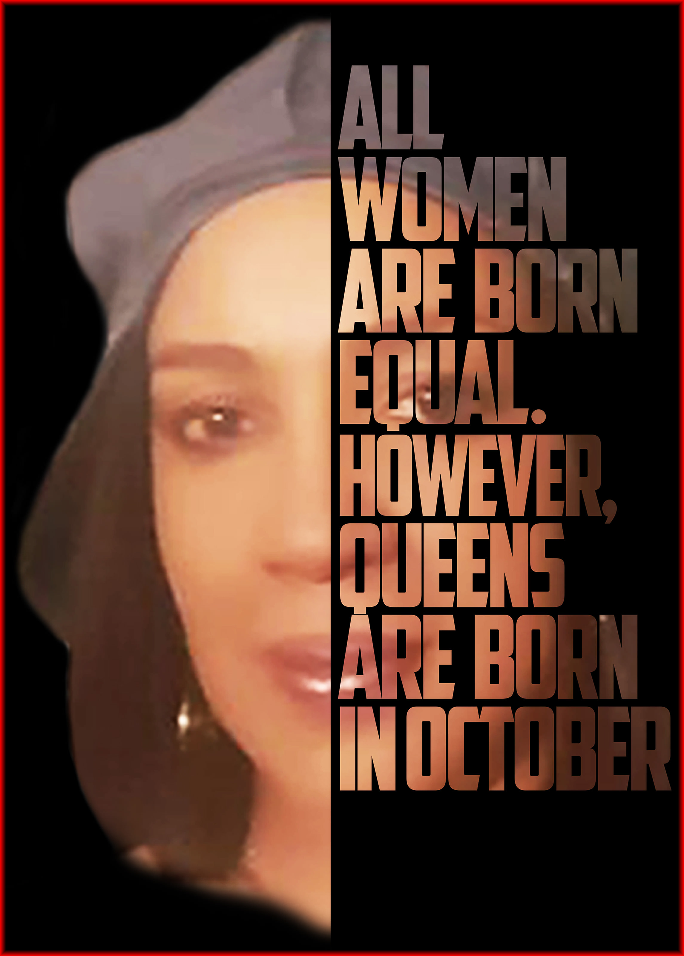 Women Are Born Equal